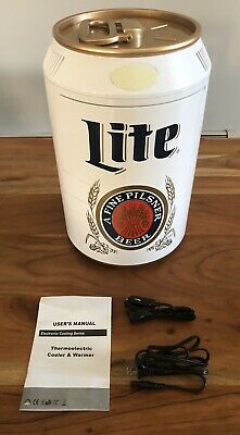Miller Lite Can Shaped Termoelectric Cooler & Warmer