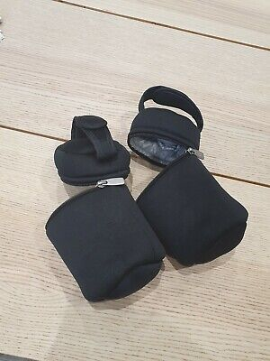 Tommy Tippee Black Insulted Bottle Bags Warmers