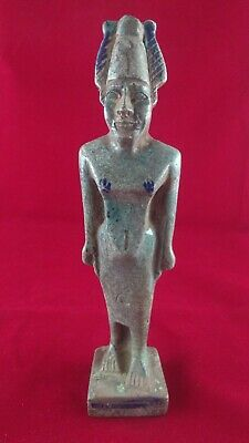 Ancient Egyptian Antiquities Ushabti of God Osiris (595-525 B.C.E)