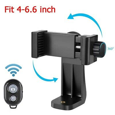 Universal 360° Phone Holder Tripod  Mount Adapter Clip for Selfie Stick Monopod