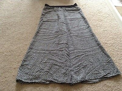 Girls Black And White Wide Leg Trousers 140/146 Cms Tammy