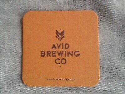 AVID BREWING CO. PRESTON BEER MAT BBCS No. 1
