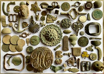 Metal Detecting Finds Collection - Medieval & Post Medieval Artefact, Lot 2 of 3
