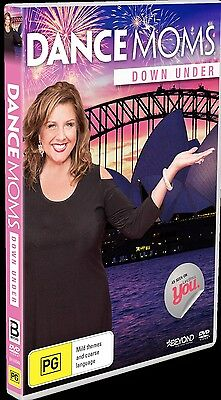 DANCE MOMS - SEASON 5 DOWN UNDER  -  DVD - UK Compatible - New & sealed
