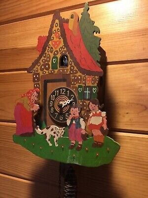 Pre-Owned NOVELTY Cuckoo Clock,Made in Germany
