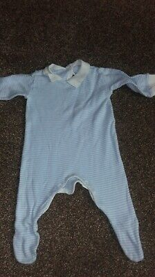 Vintage Baby Boys Baby grow From 70s( 60cm)