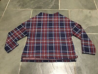 Girl's Next Checked Top, Age 10 Years, Exc Con
