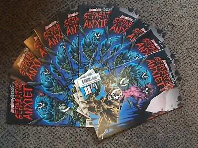 Lot x10 Copies Absolute Carnage Separation Anxiety #1 Chapman Level Marvel Venom