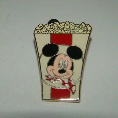 Disney Pin Mickey Mouse Popcorn Bucket Collector, Trading Pin