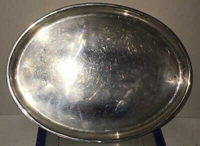 Fisher Sterling Silver Appetizer Side Dish Serving Tray 143g