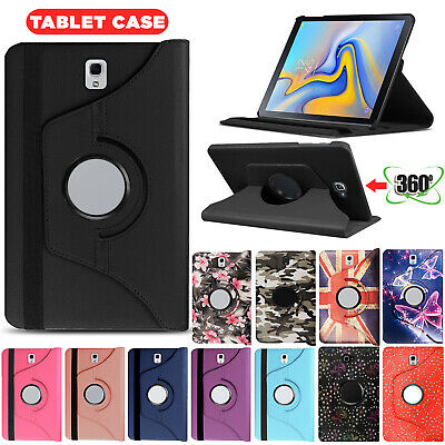 Smart 360 Rotating Stand Leather Case Cover For Samsung Galaxy Tab T510 T580 590