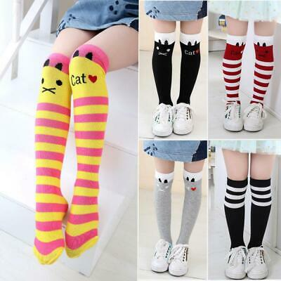 Kids School Bowknot Girls Tights Baby Leg Warmer High Knee Socks Stockings