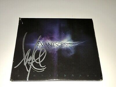 Evanescence Rare Amy Lee Signed CD + Photo Free Shipping Guaranteed Authentic