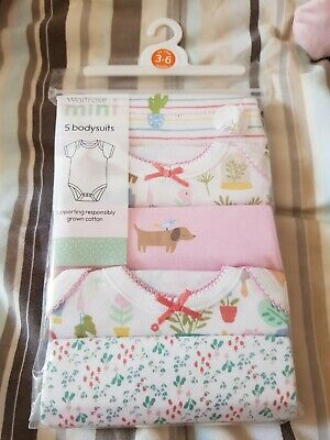 Bnwt Short Sleeve Vests 3-6 Months from Waitrose.