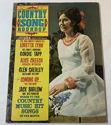 June 1972 Country Song Roundup ~ LORETTA LYNN, Gordie Tapp, Alice Creech, more