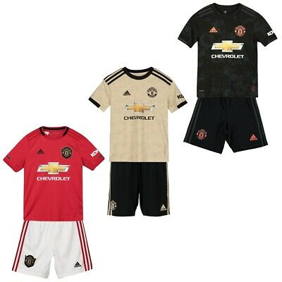 Manchester United Home Away Third Football Kit 19-20 Kids Mens Soccer Jersey