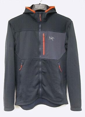 "ARCTERYX ""Fortrez Hoody Gen 1"" Men's Small, Nighthawk, Polartec, NEUw.! Like NEW"