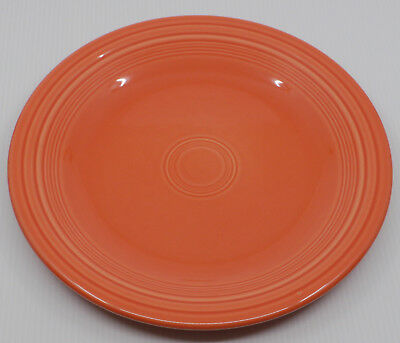 Homer Laughlin Fiesta Ware 10 1/2 Inch Dinner Plate In Red, Paprika Color?