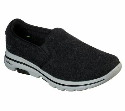 Mens Skechers Go-Walk 5 Casual Slip On Memory Foam Comfy Trainers Sizes 6 to 11