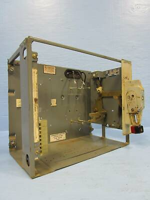 "Square D Model 4 30 Amp MCC Motor Control Breaker Feeder MCC Bucket 30A 12"" Mod"