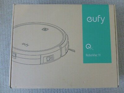 Eufy Robovac 11 White High Suction Self Docking Robot Vacuum Cleaner T2102
