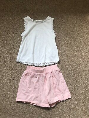 Next Girls Shorts & Vest Bundle Outfit Summer Set 2-3