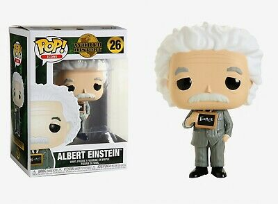 Funko Pop Icons: World History - Albert Einstein™ Vinyl Figure #43543