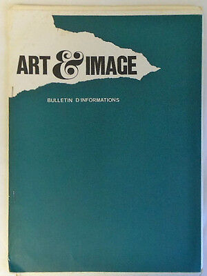 September 1972 French ART & IMAGE Bulletin d'Informations #76 ~ Photography