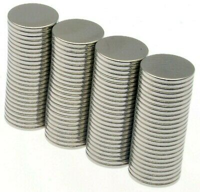 Strong Neodymium Magnets ( 8mm x 0.75mm ) Very Thin Small Powerful Disc 0.25Kg