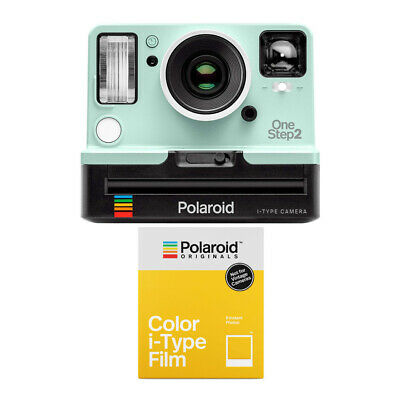 Polaroid Originals 9007 OneStep 2 VF Instant Camera (Mint) and B&W Color Film
