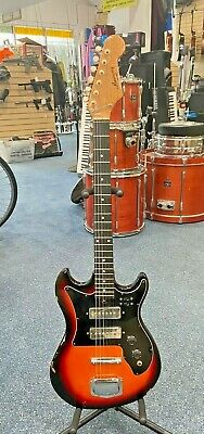 Vintage Harmony H802 Electric Guitar Free Shipping