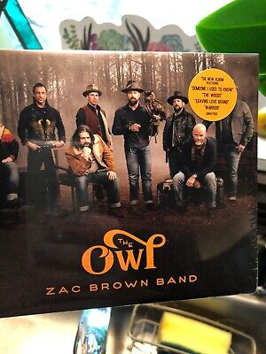 Zac Brown Band The Owl CD Sealed