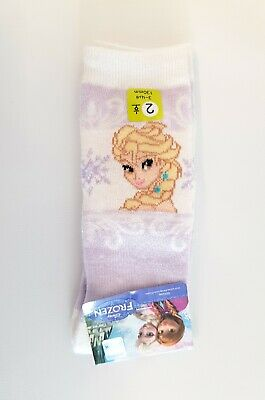 [Made In Korea] FROZEN Character Girls Knee Socks-Size 13cm / Non-slipping