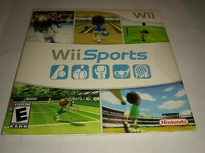 Wii Sports, (Wii) Complete with Manual Complete Tested Works