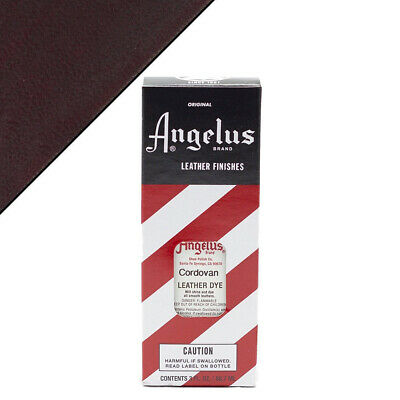 C--017 Angelus Permanent Leather Dye With Applicator 3Oz Cordovan