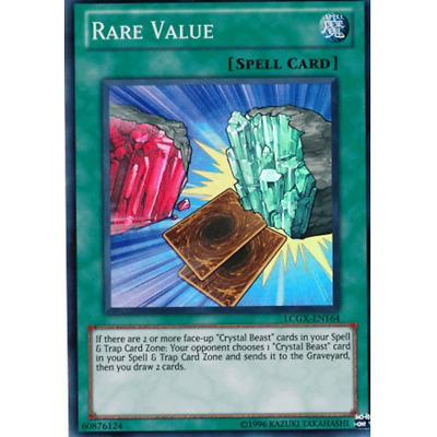 RARE VALUE Valore Raro • ANDYCARDS • Super R • LCGX EN164 • Yugioh