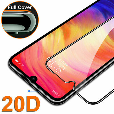 20D Tempered Glass Screen Protector for Xiaomi Redmi 8A Note 8 7 Protective Film