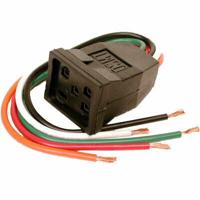 Dial 7583 1 Or 2 Speed Pigtail Molded Motor Receptacle