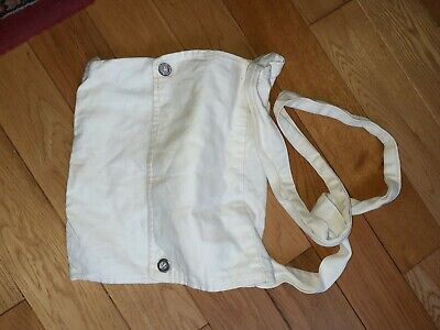 Bread Bag For Re-enacting Cotton And Metal Buttons