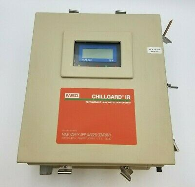 Chillgard IR Refrigerant Leak Detection System MSA 802814 Display Screen PC Assy