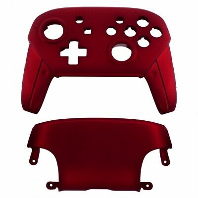 Housing shell for Nintendo Switch Pro controllers soft touch - Red | ZedLabz