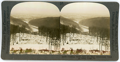 Stereo, USA, Pennsylvania, Valley Forge looking North from the steel observatory