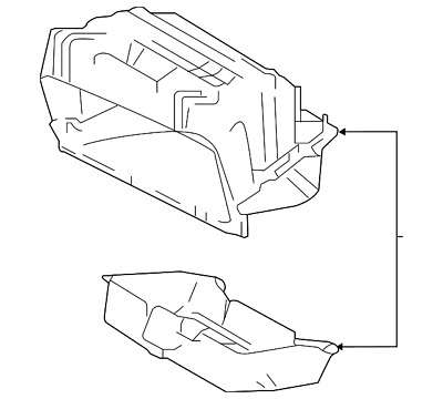 Genuine Nissan Glove Box Assembly 68520-3LM0A