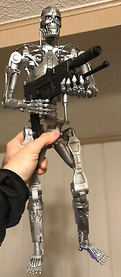 "1/4 Scale 18"" NECA Terminator 2 Endoskeleton Action Figure Loose"