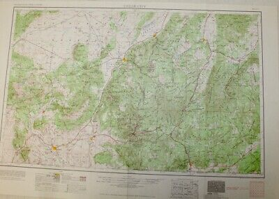 1953 Cedar City, Utah Geological Topographic Map / Dixie National Forest