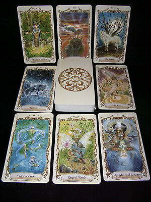 Sealed & Brand New! Fantastical Creatures Tarot Deck Oracle Divination Folklore
