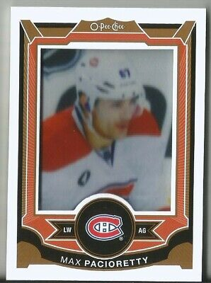 2015-16 Opc Max Pacioretty O Pee Chee Patch Manufactured #P-20