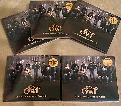 Lot Of 5 - Zac Brown Band - The Owl - New Cd 2019 Factory Sealed