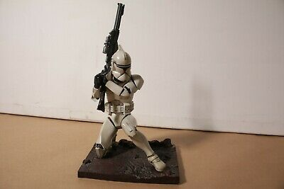 New Kotobukiya 1/7 Star Wars Clone Trooper Soft Vinyl Statue Kit ArtFX EP II