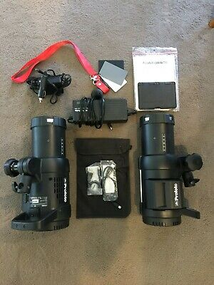Profoto B1 500 Air TTL 2 Light Location Kit LIKE NEW WITH ACCESSORIES